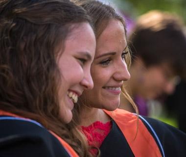 Waterloo graduates at convocation