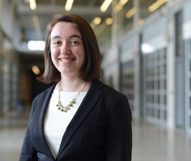 HeForShe scholarship winner Anya Forestell