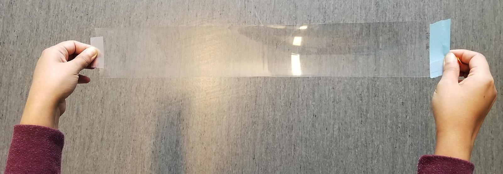 Nanomaterial film graphene