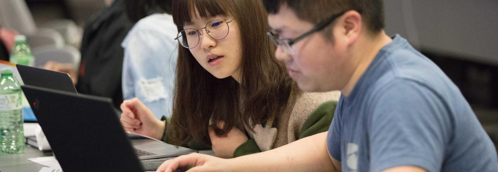 Datathon participants hack data during weekend competition