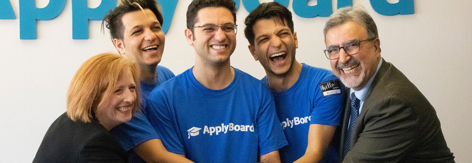 ApplyBoard relocation celebration