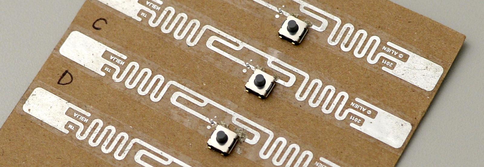 An RFID tag