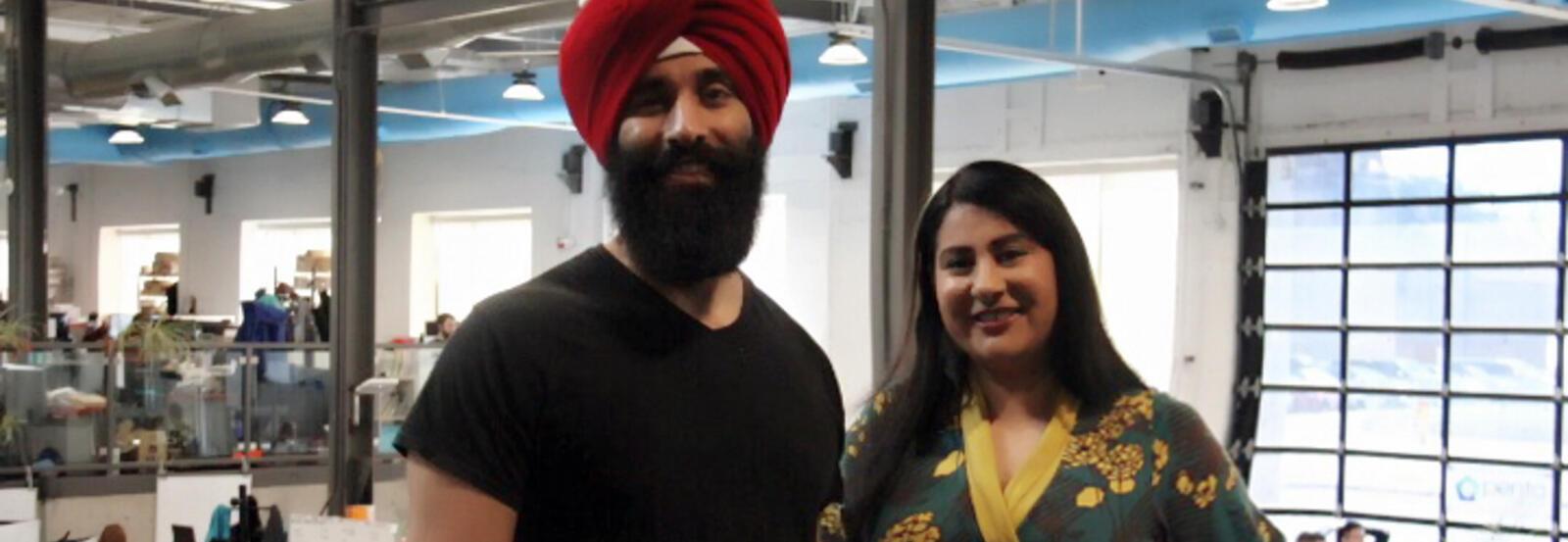 Sukh Singh and Harleen Kaur