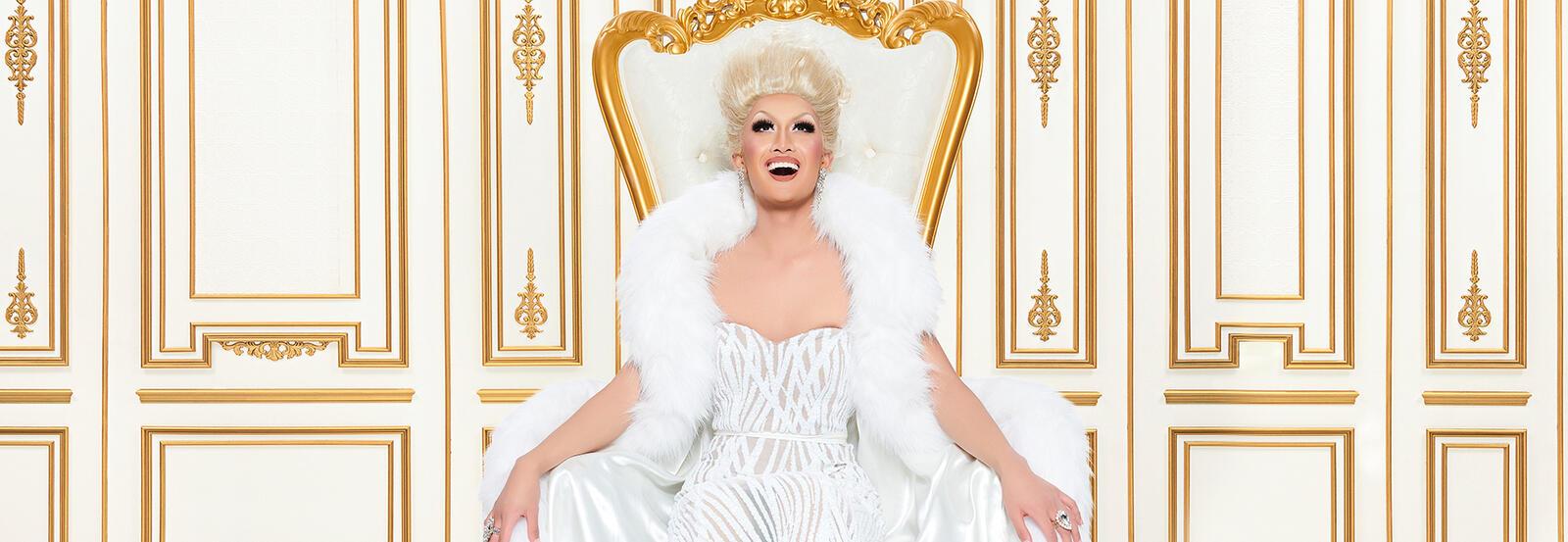Kyne Santos as a drag queen