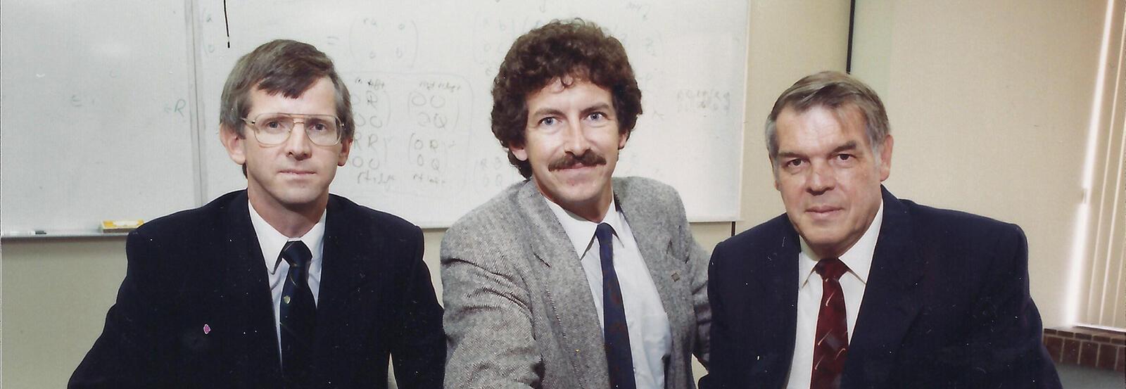 Scott, Gord and Ron