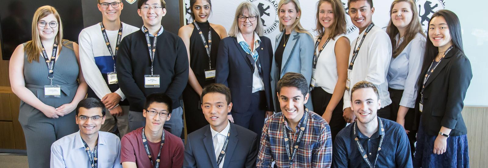 Schulich leaders and Donna Strickland