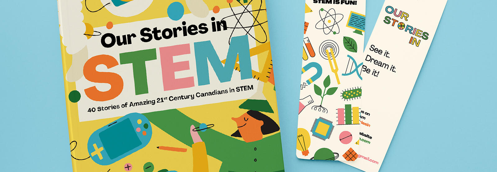 Our stories in STEM book