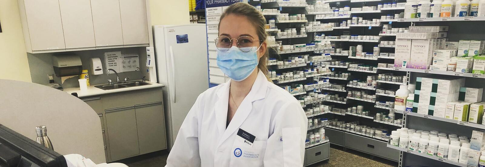 Pharmacy student Svetlana