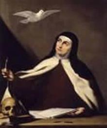 Portraint of Teresa of Ávila