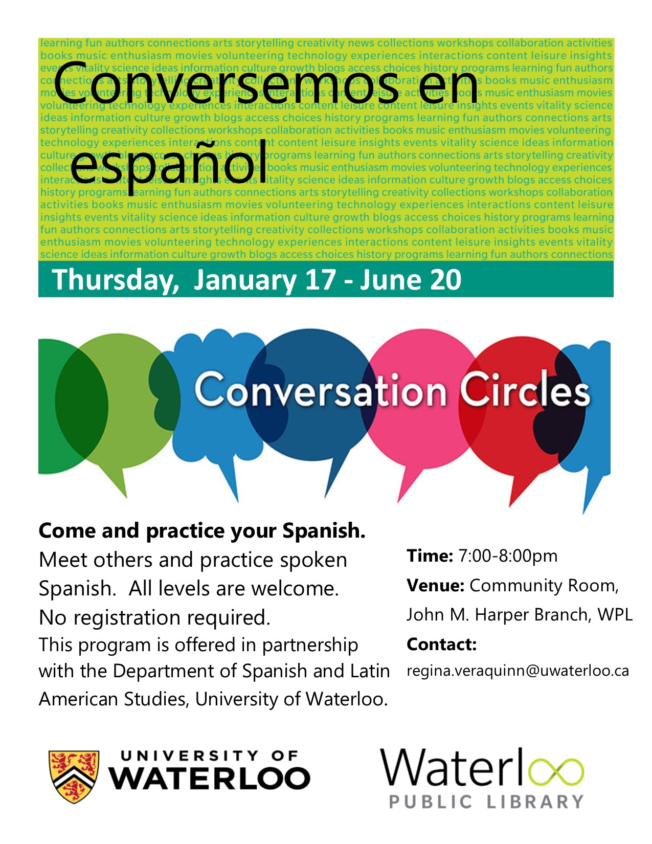 Photo of Conversation Circle Poster
