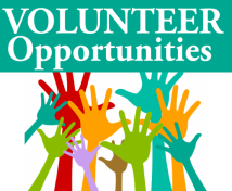 Volunteer opporutnites