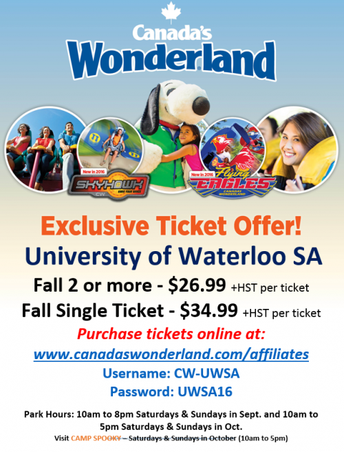 Uwsa Partnerships And Discounts Page University Of
