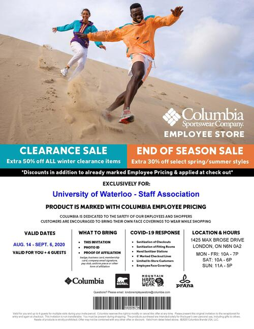 columbia flyer