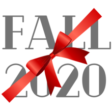 Fall 2020 with bow though 2 words