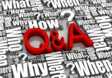 question and answer graphic