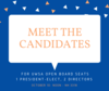 meet the candidates poster