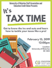 flyer for tax seminar