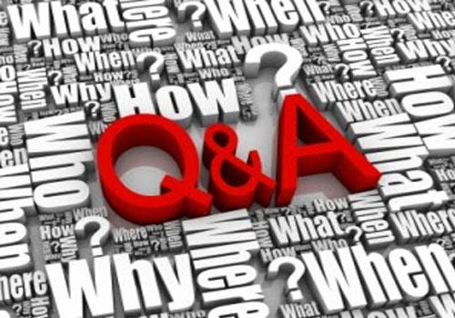 Q & A graphic