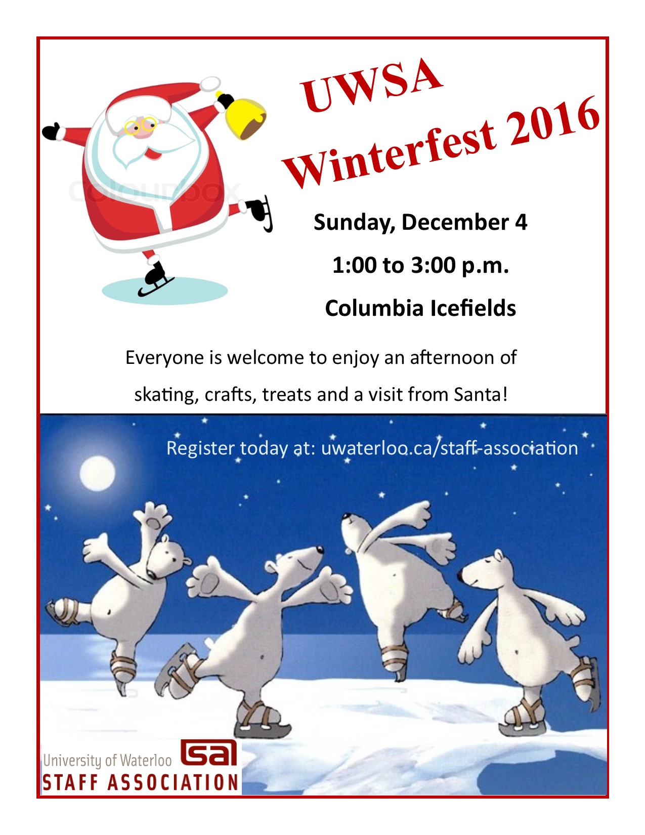 poster for winterfest 2016