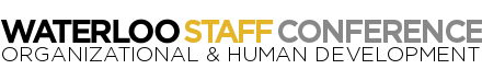 Waterloo Staff Conference logo