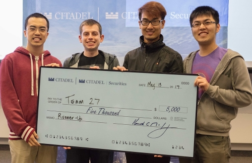 Datathon Second place 2017