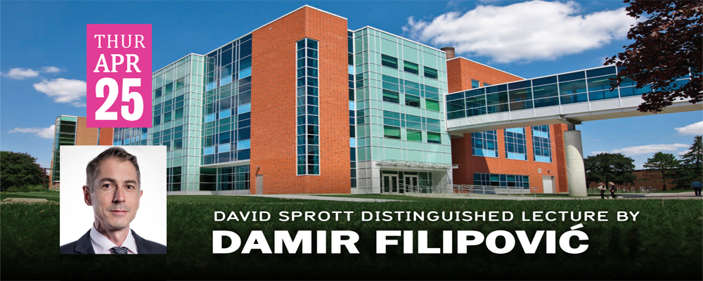 Distinguished lecture Banner image