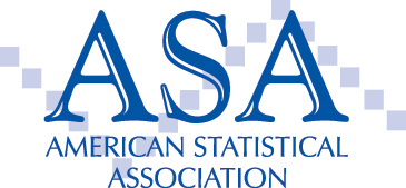 American Statistical Association logo.