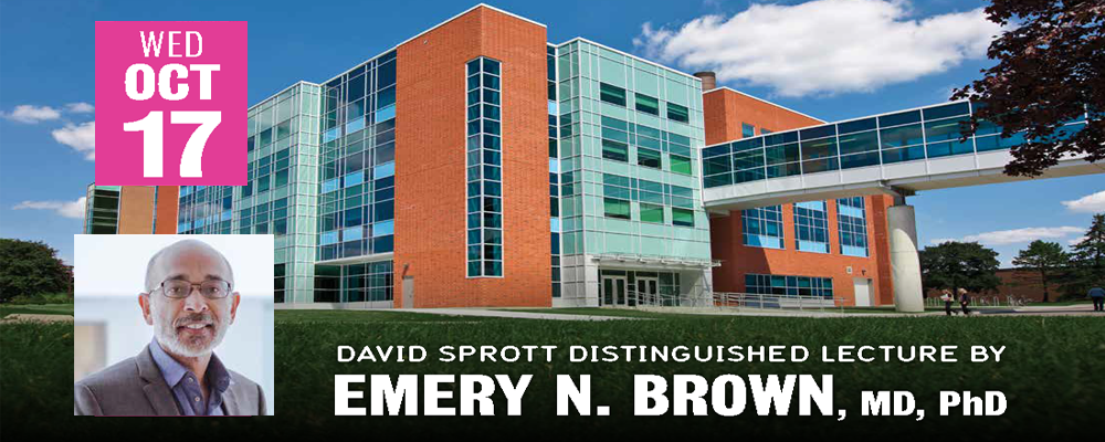 Emery Brown lecture banner