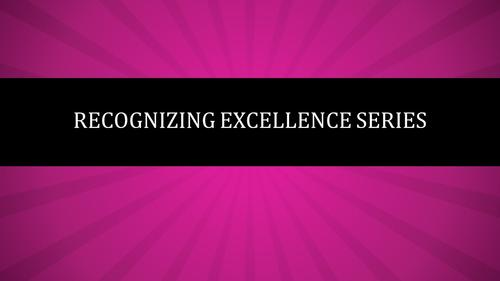 Recognize Excellence Banner