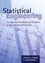 Statistical Engineering front page cover.