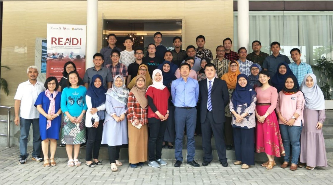 Group photo of the Jakarta course