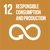 UN Sustainable Goal number 12 icon