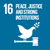 UN Sustainability Goal 16 icon