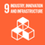UN Sustainable Development Goal 9 icon