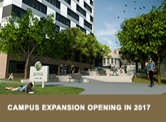 Rendering of campus expansion