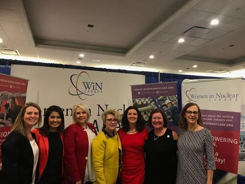 Women in Nuclear Group with Tracy