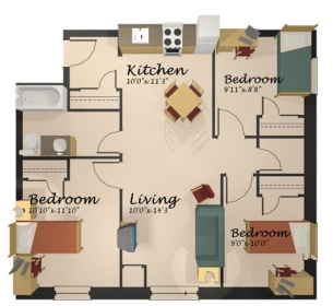 Upper Year Floor Plans And Photos St Paul 39 S University College