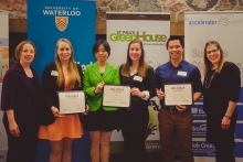 Winners for Big Ideas Challenge.