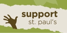 support St. Paul's button