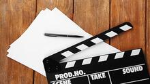 PAper, pencil and clapperboard
