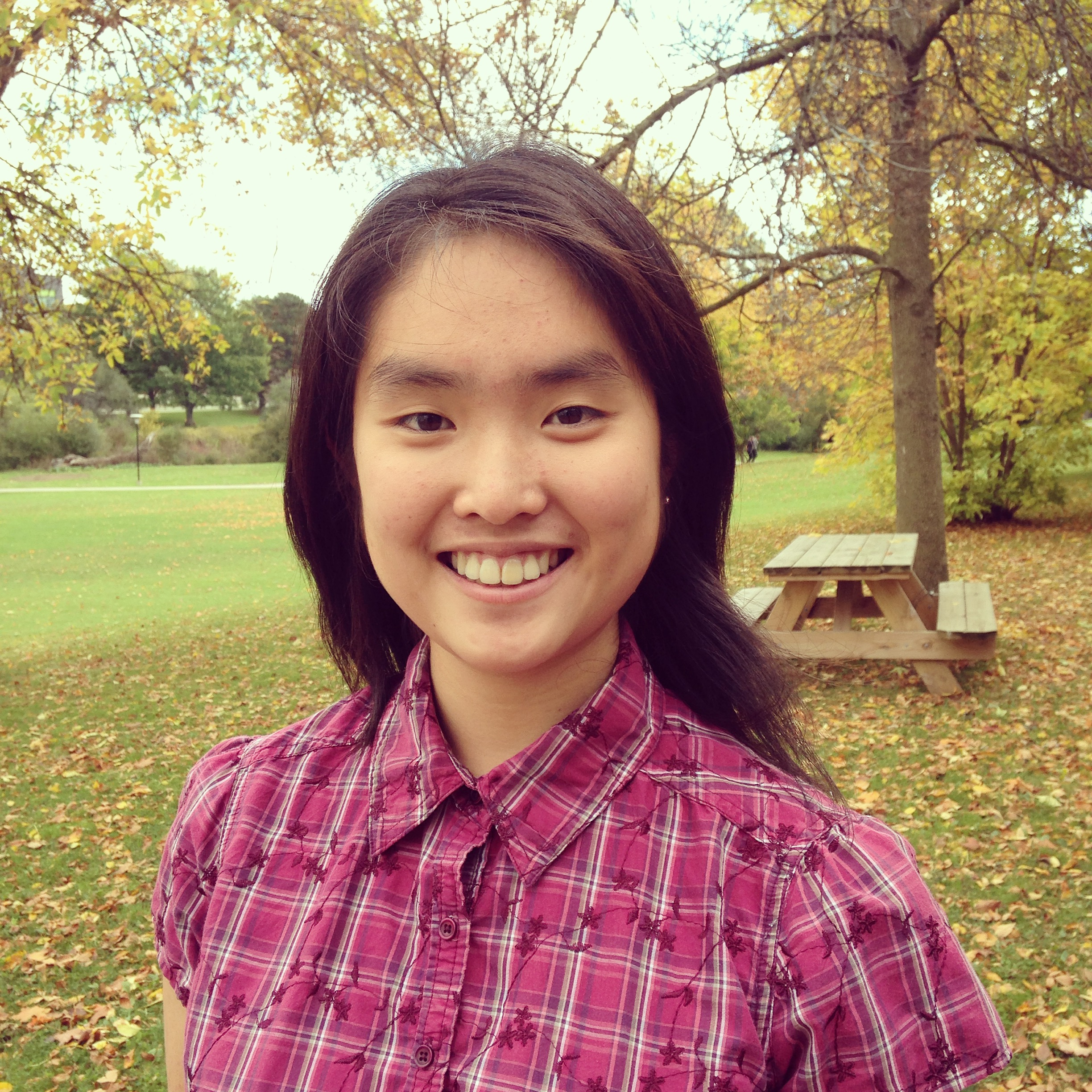 A picture of Amy Liou, our new student blogger.