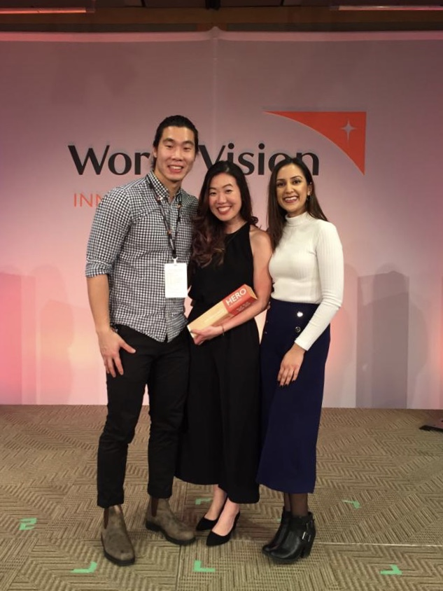 Cherie Wei World Vision award