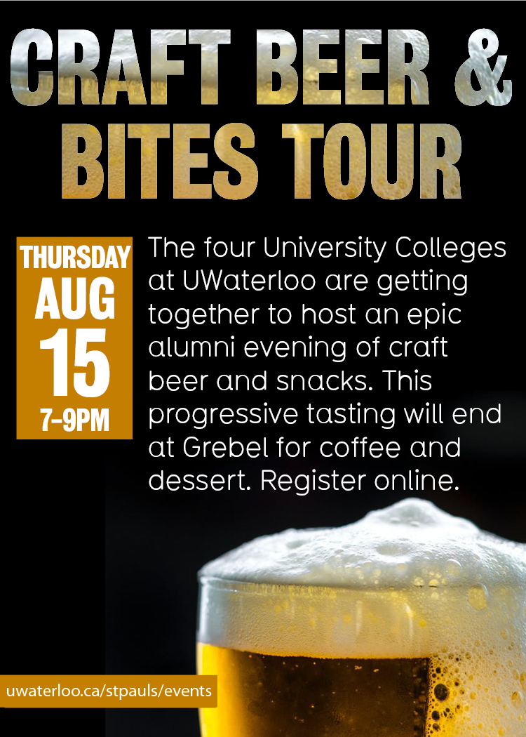 Alumni Craft Beer & Bites Tour