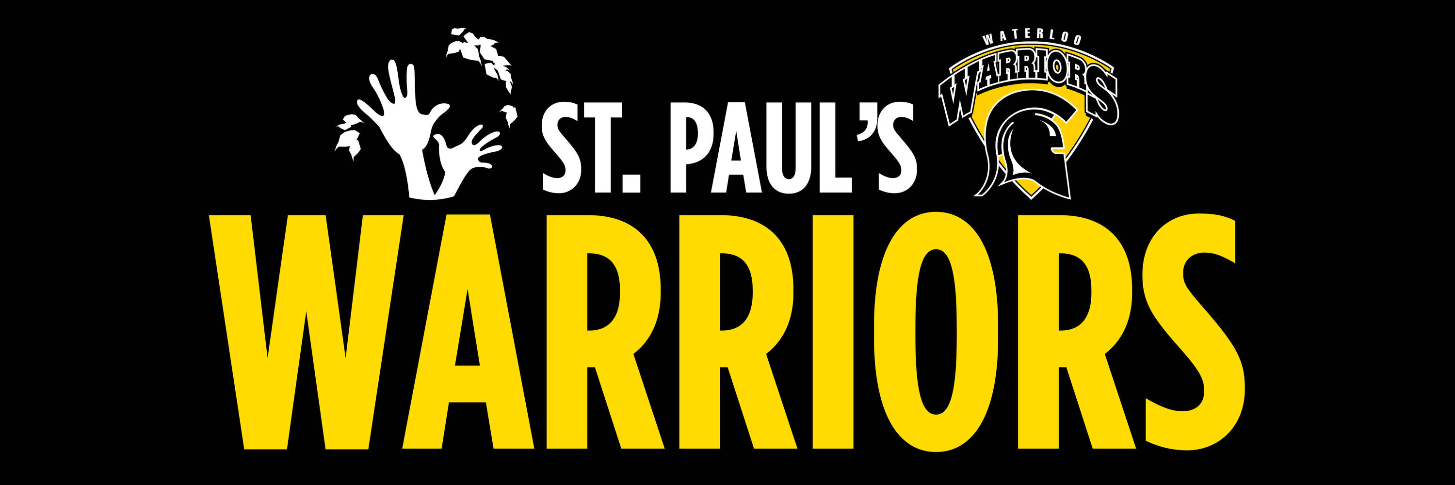 St. Paul's Warriors sign