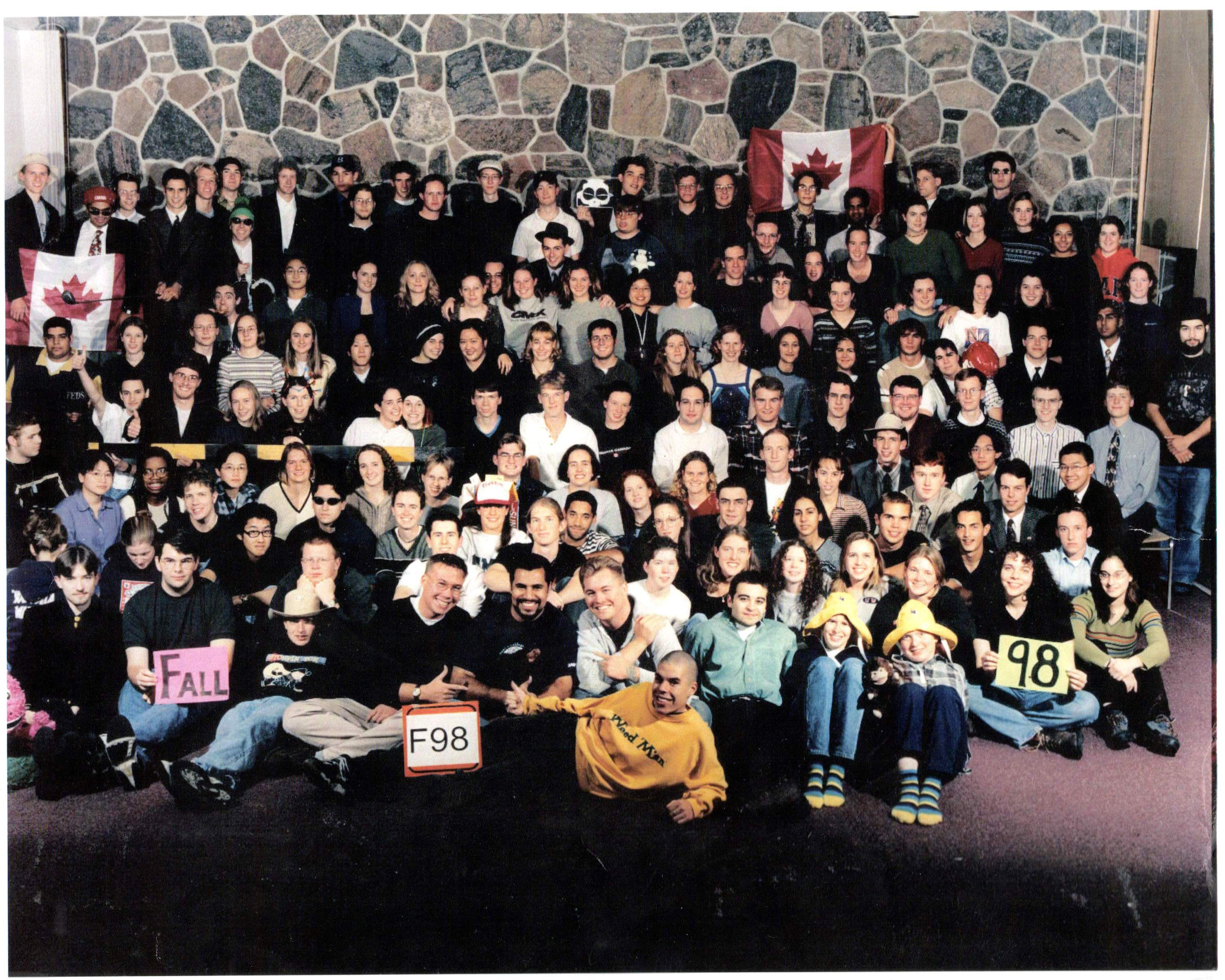 Class photo Fall 1998