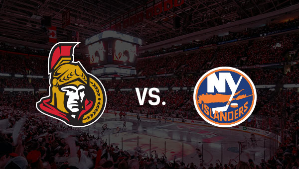 Ottawa Senators and New York Islanders logos