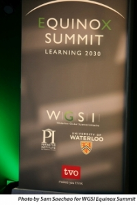 Equinox Summit Learning 2030 banner.