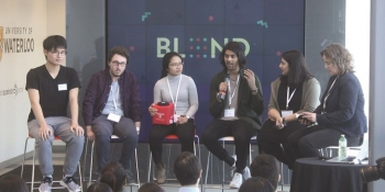 A panel of four graduates (and one current student) talk about what life is like in the working world of design.