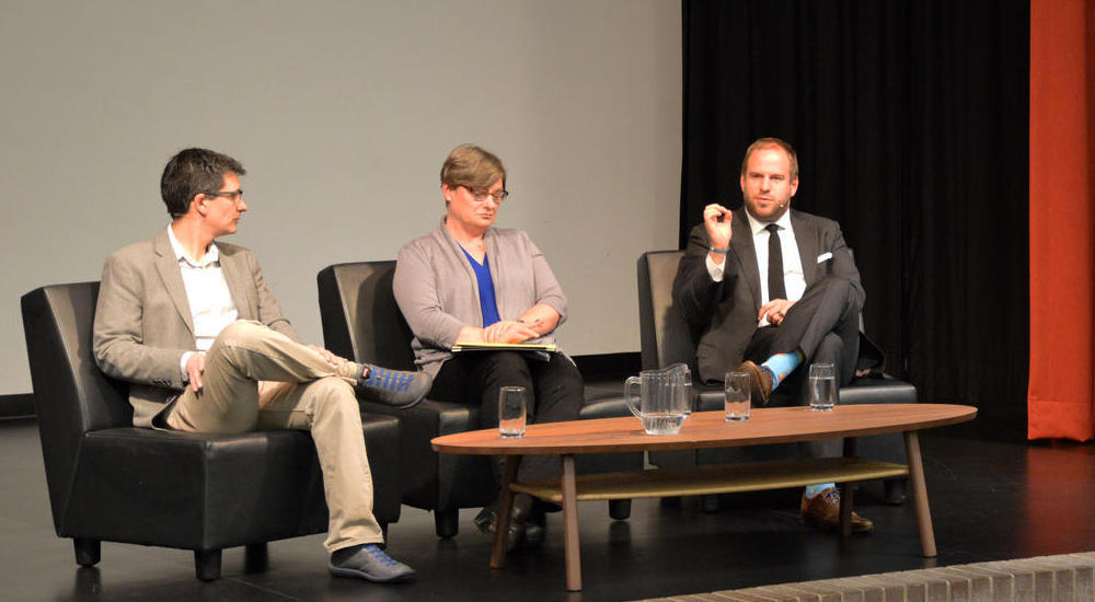 Lennart Nacke participates in panel discussion about AI