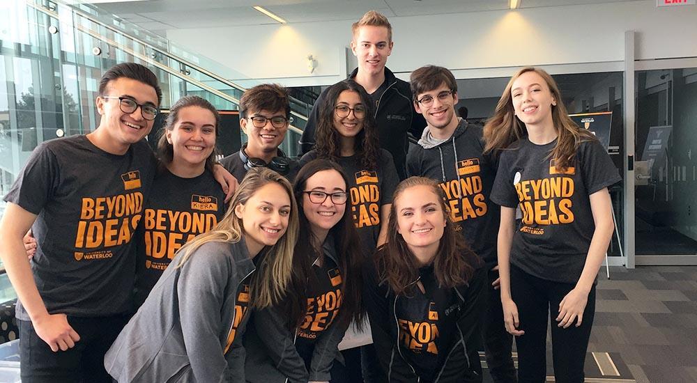 GBDA students posing for photo